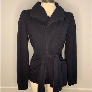 Sz small, Saturday Sunday black collared cardigan.